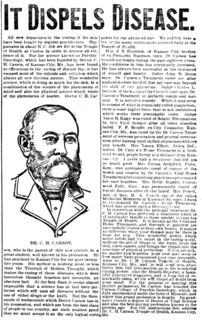 C. H. Carson - IT DISPELS DISEASE - National Tribune (21 June 1900).jpg
